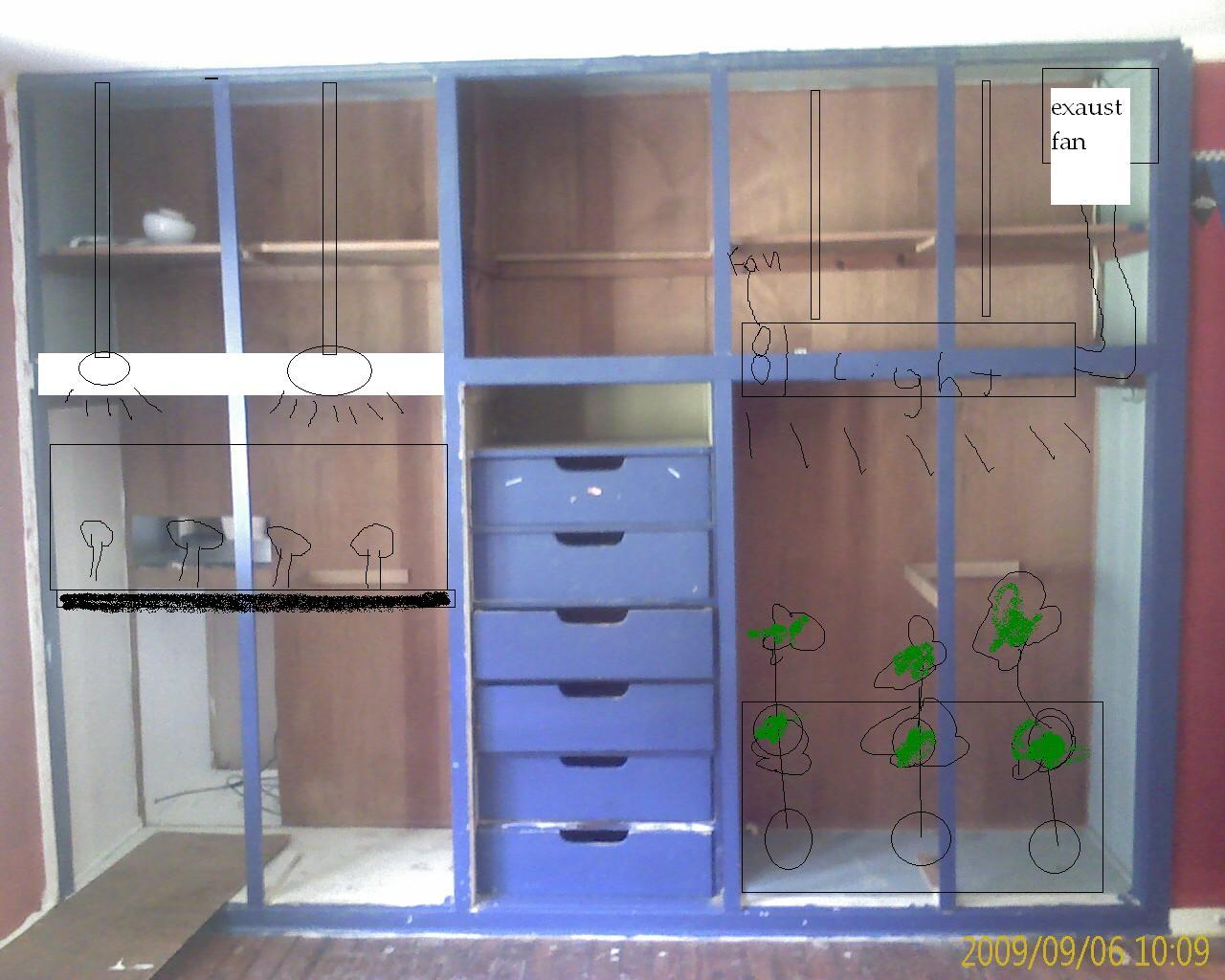 Closet grow room set up roselawnlutheran for Grow room design plans