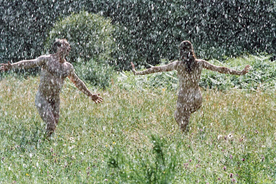 Dance naked under thanks