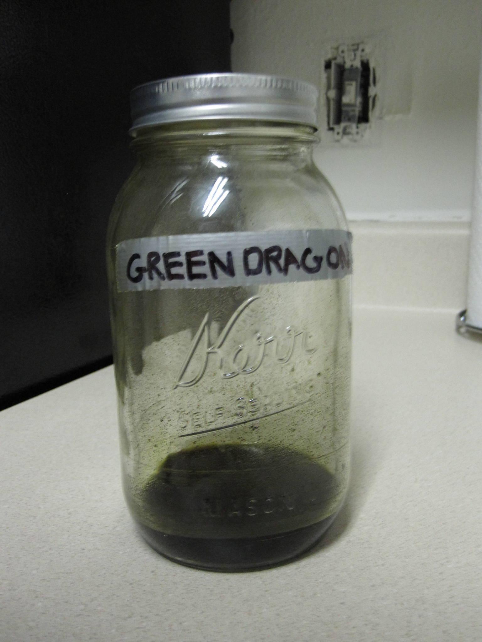 Green Dragon Drink Recipe Weed