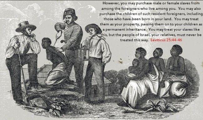 How is slavery justified